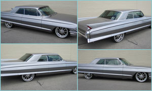 1962 Cadillac Coupe Deville - Window Tint