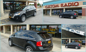 2012 Ford Edge - Custom Tint
