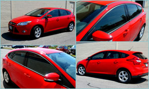2012 Ford Fusion - Custom Window Tint
