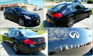 2012 Infiniti G37XS - Custom Window Tint