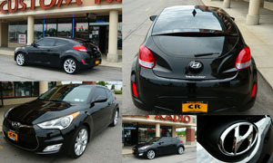 2012 Hyundai Veloster - Custom Window Tint