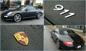 2012 Porsche Carrera - Custom Window Tint